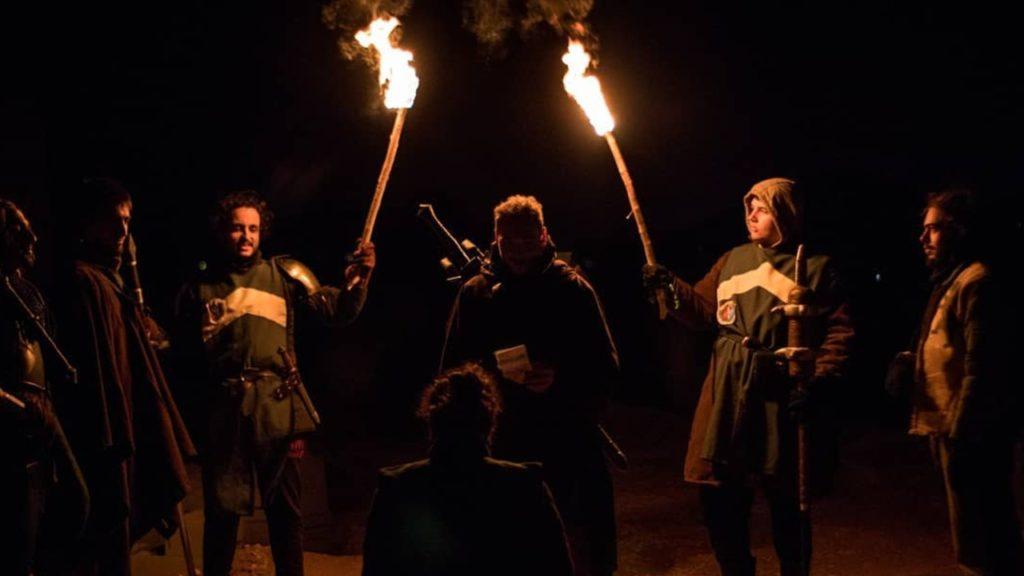 Glinster Shaidraig eventos de rol en vivo SAND BOX  en España
