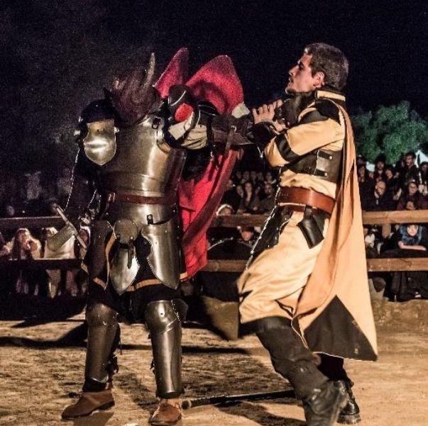 Feria del Dragón LARP en España Eventos de Mundo Abierto LibreRol en Vivo Douglas el Despiadado
