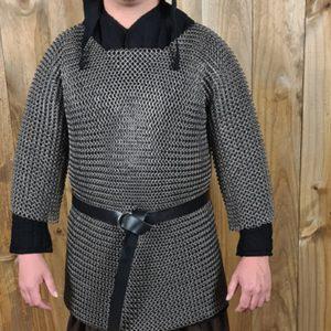 Camisa-de-malla-de-media-manga-16mm-armadura-cota-de-malla-LARP-Douglas-el-Despiadado-3