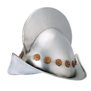 Casco Conquistador Español S. XVI Douglas el despiadado cascos larp armadura de metal