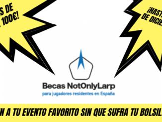 Becas para rol en vivo NotOnlyLarp Larp España softcombat douglas el despiadado eventos medievales